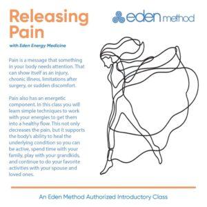 Releasing Pain with Eden Energy Medicine